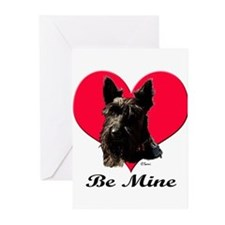 Funny Westie valentine Greeting Cards (Pk of 20)