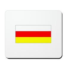 South Ossetia Flag Mousepad