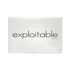Exploitable Rectangle Magnet (10 pack)