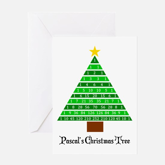 Funny Mathematics christmas Greeting Card