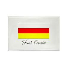 South Ossetia - Flag Rectangle Magnet
