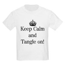 Keep Calm and Tangle On! T-Shirt