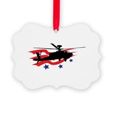US MILITARY HELICOPTER Ornament