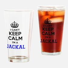 Unique Jackal Drinking Glass