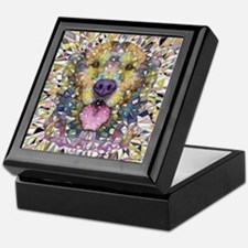 Rainbow Dog Keepsake Box