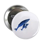 "Humpback Baby 2.25"" Button (10 pack)"