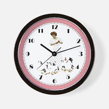 FARMER'S DAUGHTER Wall Clock