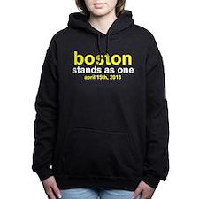 Boston Stands As One Women's Hooded Sweatshirt