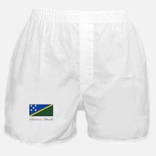 Solomon Islands - Flag Boxer Shorts