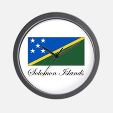 Solomon Islands - Flag Wall Clock