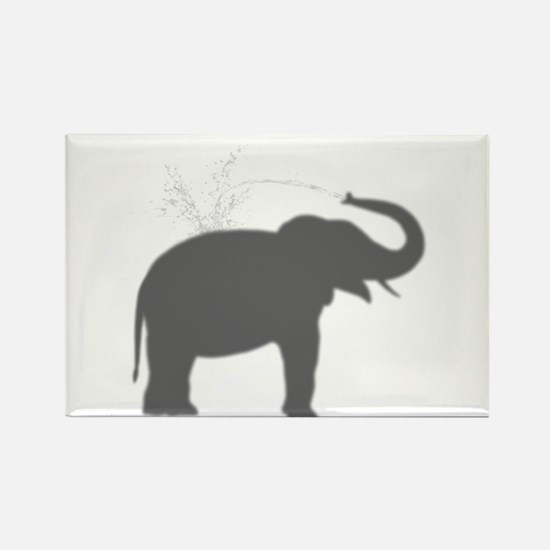 Elephant Silhouette Magnets