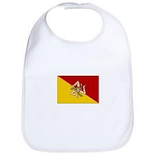 Sicily - Sicilian Flag Bib