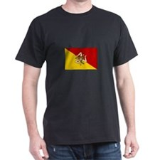 Sicily - Sicilian Flag T-Shirt