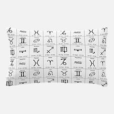 zodiac horoscope atstrology Pillow Case