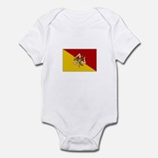 Sicily - Sicilian Flag Infant Bodysuit