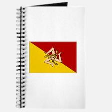 Sicily - Sicilian Flag Journal