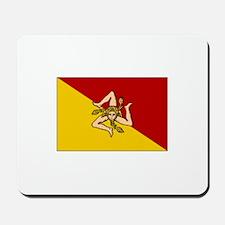 Sicily - Sicilian Flag Mousepad