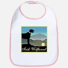 Irish Wolfhound Landscape Bib