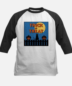 Trick or Treat Fence Tee