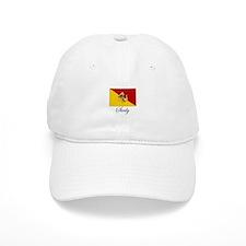 Sicilian Flag - Sicily Baseball Cap