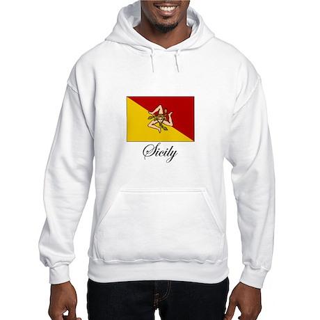 Sicilian Flag - Sicily Hooded Sweatshirt