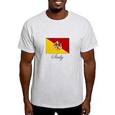 Sicilian Flag - Sicily T-Shirt
