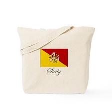 Sicilian Flag - Sicily Tote Bag