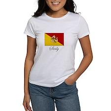 Sicilian Flag - Sicily Tee