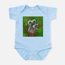 Blue-Eyed Baby Koala Body Suit