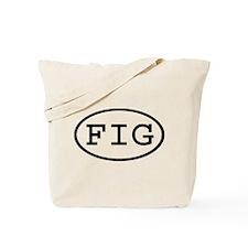 FIG Oval Tote Bag