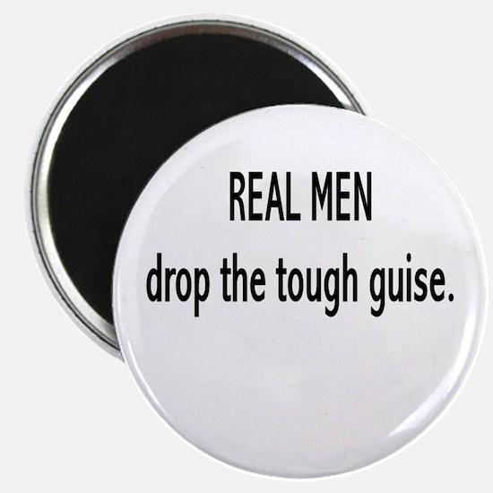 """""""Real Men"""" Magnet"""