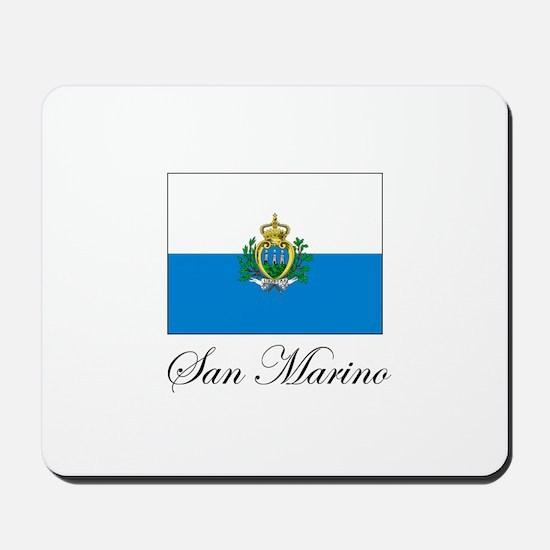 San Marino - Flag Mousepad