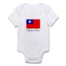 Republic of China - Flag Infant Bodysuit