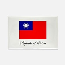 Republic of China - Flag Rectangle Magnet