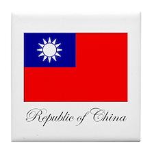 Republic of China - Flag Tile Coaster