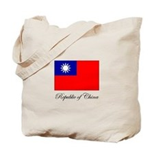 Republic of China - Flag Tote Bag