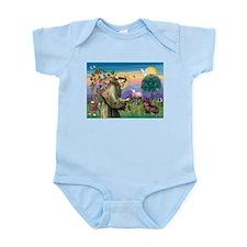 St Francis Doxie Infant Bodysuit