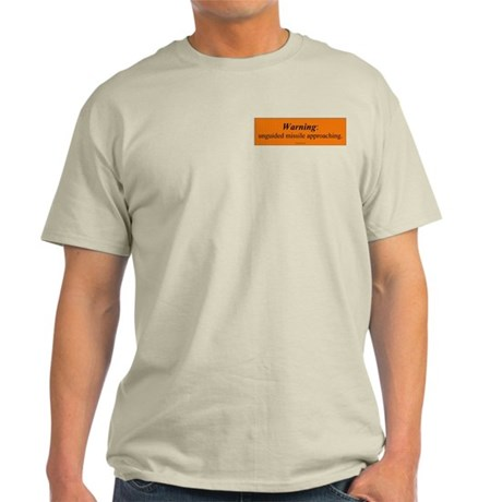 Unguided Missile Light T-Shirt