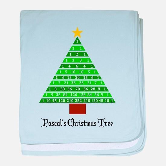 Pascal's Christmas Tree baby blanket