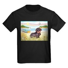 Rowboat / Wire Haired Dachshund T