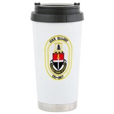 USS ELLIOT Travel Mug