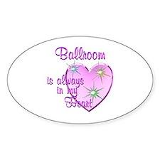 Ballroom Heart Decal