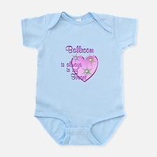 Ballroom Heart Infant Bodysuit