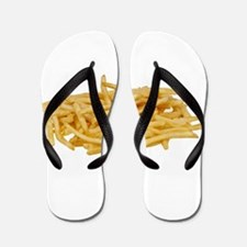 Funny French fries Flip Flops