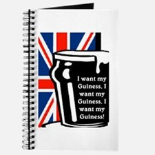 I WANT MY GUINESS Journal