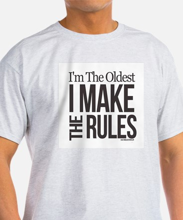 Adult Mens T-Shirt: Oldest