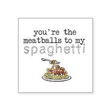 Spaghetti and Meatballs Sticker