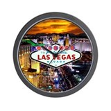 Las vegas Wall Clocks