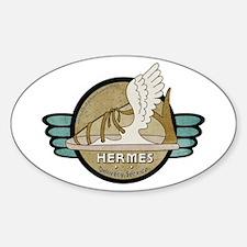 Hermes Delivery Service Sticker (oval)
