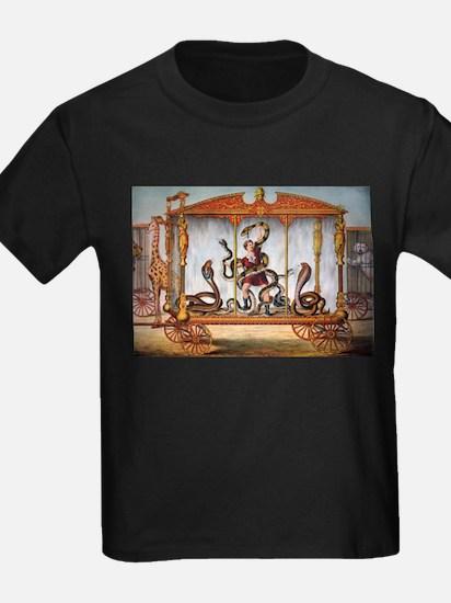 vintage freakshow snakes T-Shirt